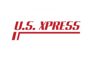 US Express Logo white
