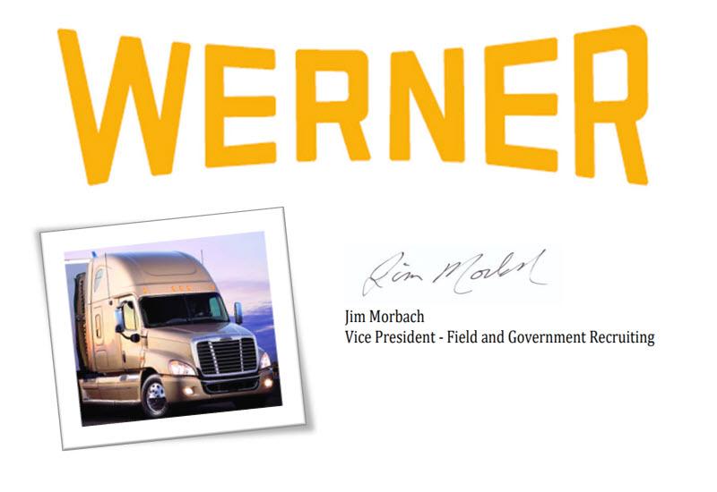 werner enterprises hiring american truck training